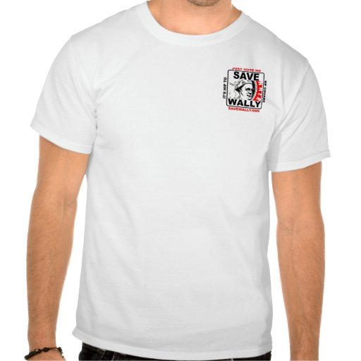 globo de SaveWally.org WBCC Camisetas