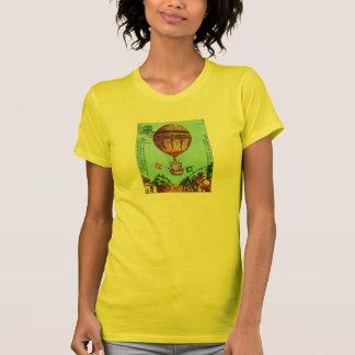 Globo del aire caliente de Steampunk del vintage Camisas
