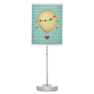 Globo del aire caliente del vintage lámpara de mesa
