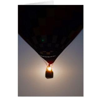 Globo del aire caliente, Fest del globo, Olathe, Tarjeta De Felicitación
