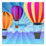 globo del aire caliente fotografías