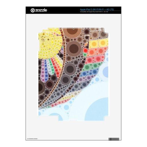 Globo del aire caliente pegatina skin para iPad 3
