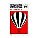 globo del aire caliente sellos postales