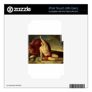 Globo del compasso e de la estafa de Sapiente de iPod Touch 4G Skins