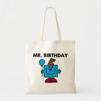Globo del feliz cumpleaños de Sr. Birthday el | Bolsa Tela Barata