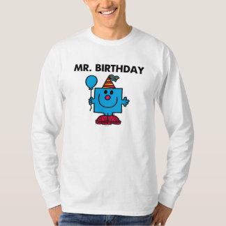 Globo del feliz cumpleaños de Sr. Birthday el | Playera
