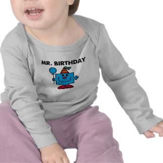 Globo del feliz cumpleaños de Sr. Birthday el | Camisetas
