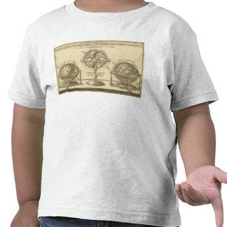 Globo del mundo camisetas