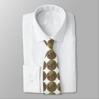 Globo del mundo corbata