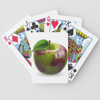Globo del mundo de Apple Cartas De Juego