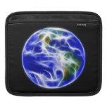 Globo del mundo de la tierra del planeta fundas para iPads