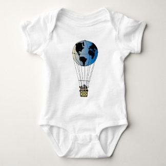 Globo del mundo mameluco de bebé