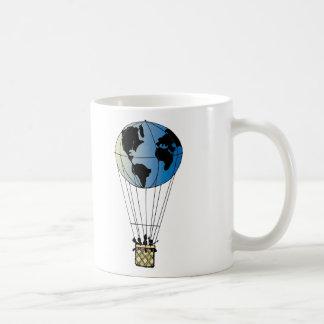 Globo del mundo taza clásica