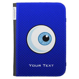 Globo del ojo azul
