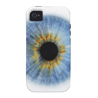 Globo del ojo azul humano Case-Mate iPhone 4 carcasa