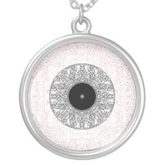 Globo del ojo colgante redondo