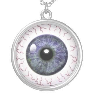 Globo del ojo grande colgante redondo
