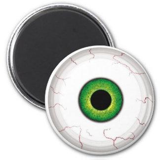 Globo del ojo imán redondo 5 cm