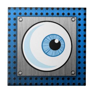 Globo del ojo; Metal-mirada Azulejos Cerámicos