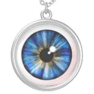 Globo del ojo Necklase Colgante Redondo