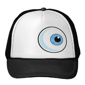 Globo del ojo Rugoso Gorras