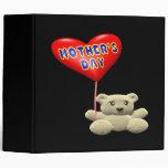 Globo del oso de peluche del día de madres