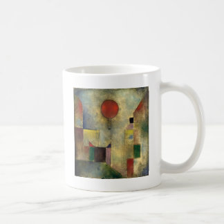 Globo del rojo de Paul Klee Taza
