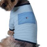 Globo en colores pastel camiseta de perro