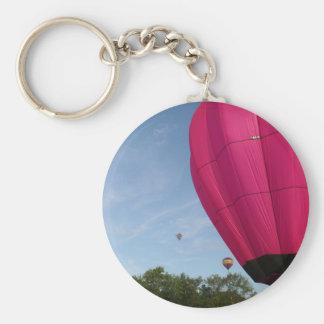 Globo, en el xlta del rosa 2 llavero redondo tipo pin