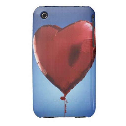 Globo en forma de corazón iPhone 3 Case-Mate protector