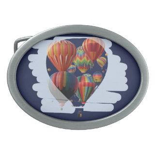 Globo en un globo hebilla de cinturón