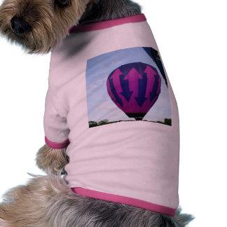 Globo indecisión camiseta de mascota