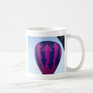 Globo, indecisión taza de café