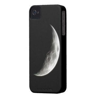 Globo lunar del planeta de la luna cuarta Case-Mate iPhone 4 cárcasas