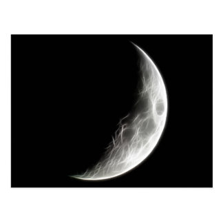 Globo lunar del planeta de la luna cuarta postales