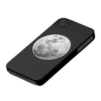 Globo lunar del planeta de la Luna Llena Case-Mate iPhone 4 Cobertura