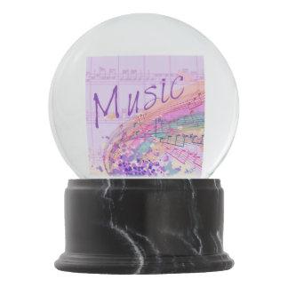 Globo púrpura de la nieve de Colorsplash de la Bola De Nieve