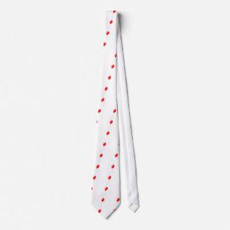 Globo rojo corbatas