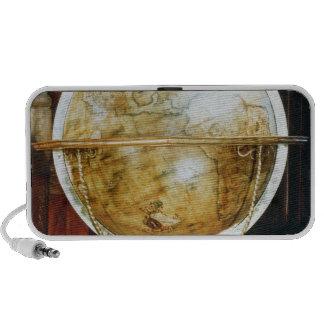 Globo terrestre, 1688 altavoz de viaje