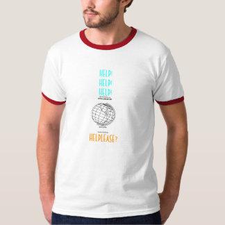 globo_terrestre [1], HELP! HELP! HELP! , HELPLEASE T-Shirt