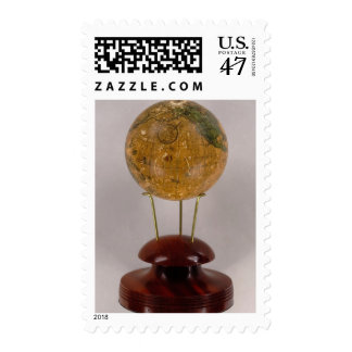 Globo terrestre 2 timbre postal