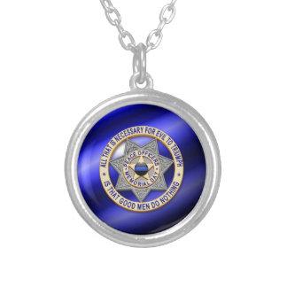 Globo y insignia finos de Blue Line Grimpola