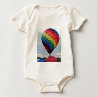 ¡Globo!   ¡Zigzag colorido! Mamelucos De Bebé