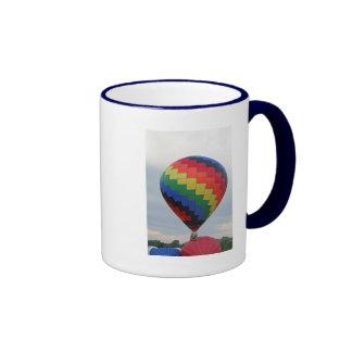 ¡Globo!   ¡Zigzag colorido! Taza De Dos Colores