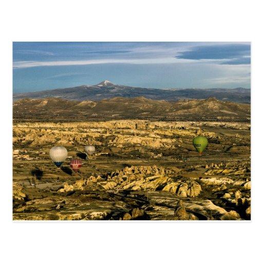 Globos 52 de Cappadocia Tarjeta Postal