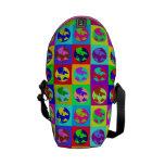 Globos coloridos bolsa de mensajeria