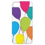 Globos coloridos iPhone 5 carcasas