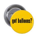 ¿globos conseguidos? pins