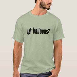 ¿globos conseguidos? playera
