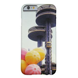 Globos de la feria de mundo del vintage funda de iPhone 6 barely there